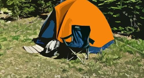tienda de campaña campamento